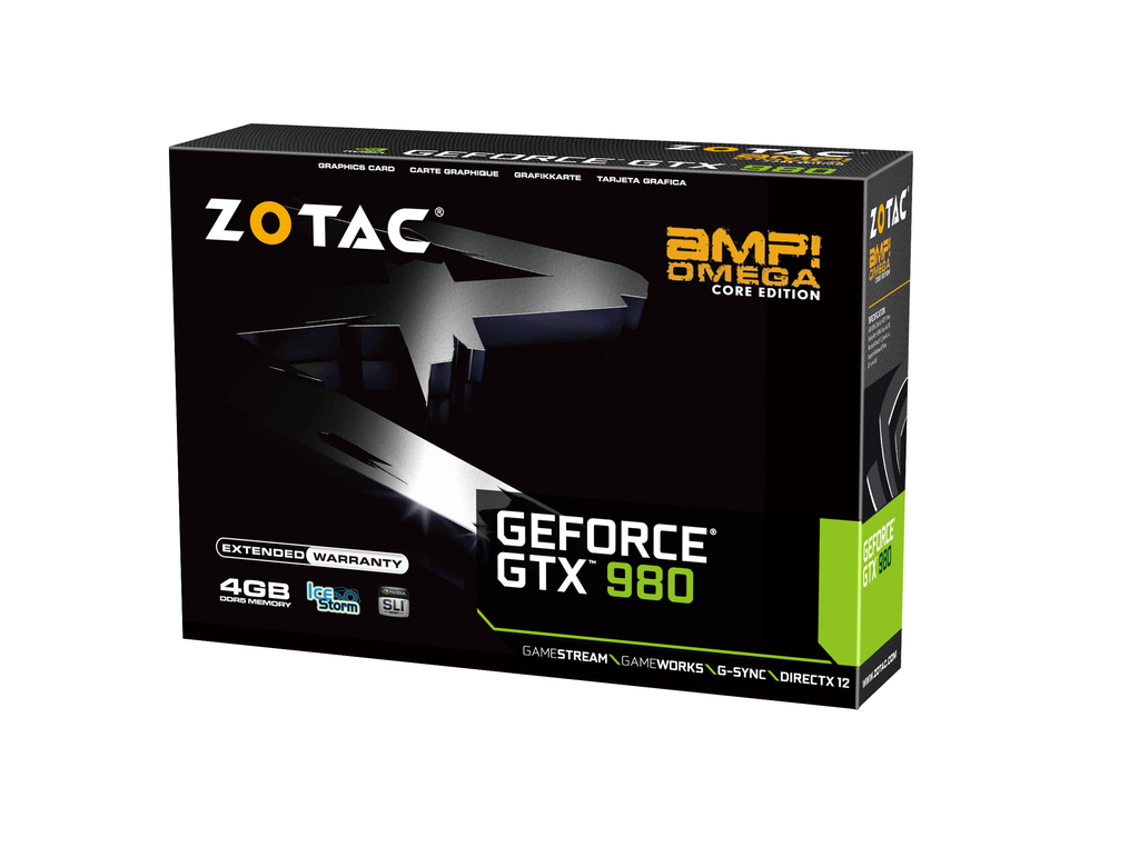 GeForce® GTX 980 AMP! Omega Core