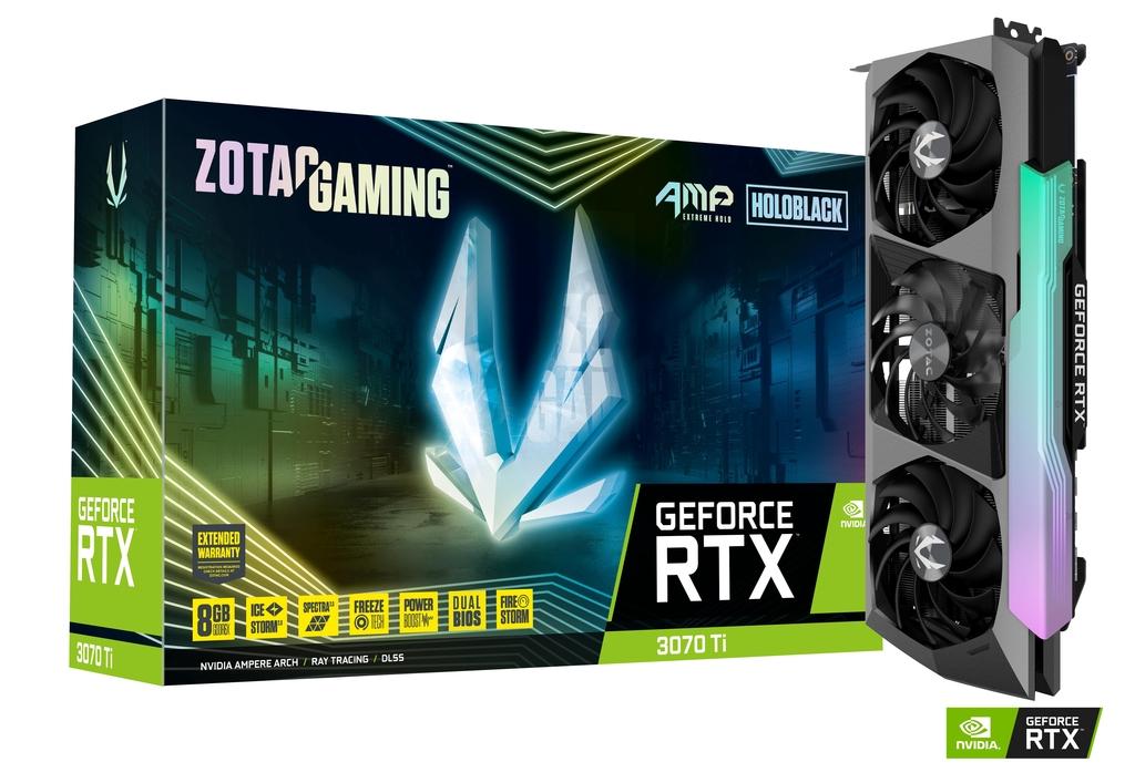 ZOTAC GAMING GeForce RTX 3070 Ti AMP Extreme Holo