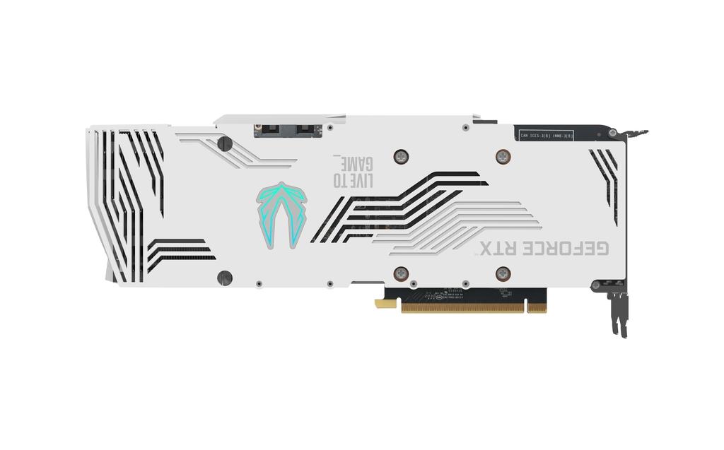 ZOTAC GAMING GeForce RTX 3080 Trinity OC White Edition