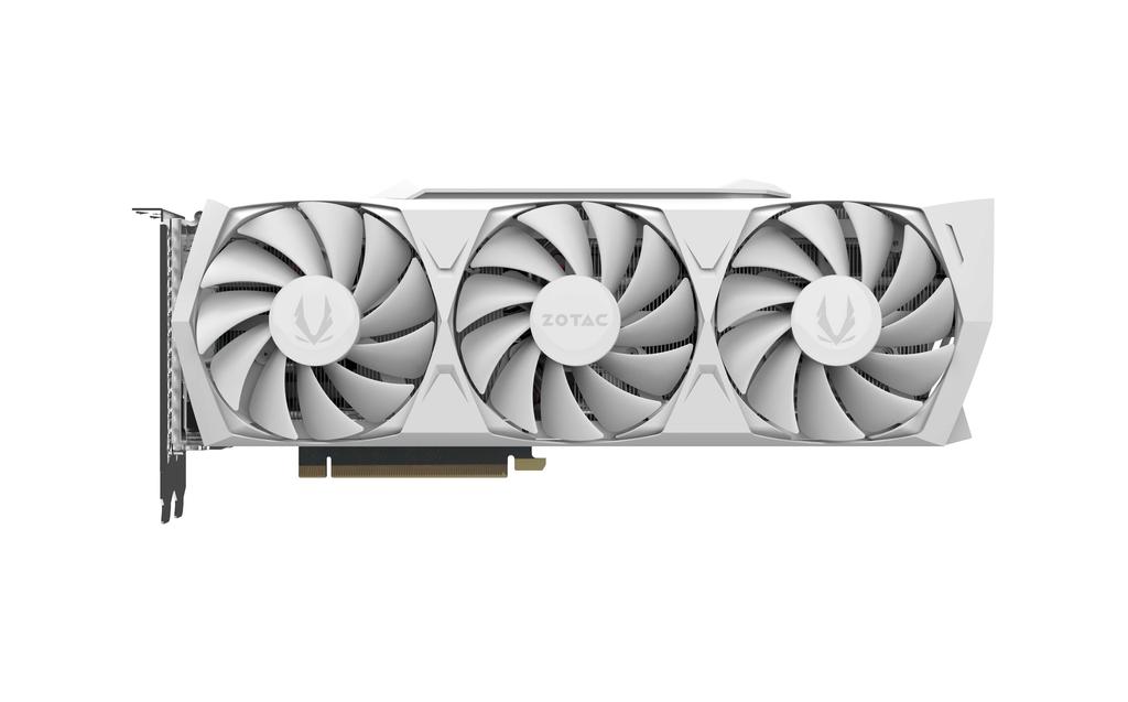 ZOTAC GAMING GeForce RTX 3080 Trinity OC White Edition LHR