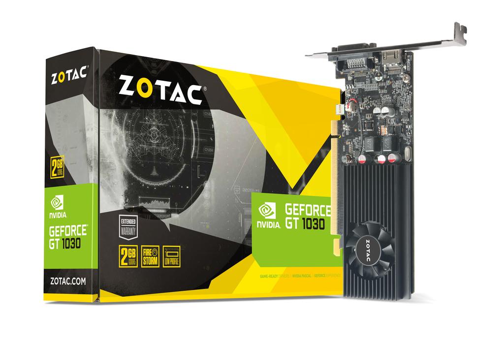 ZOTAC GeForce® GT 1030 2GB GDDR5