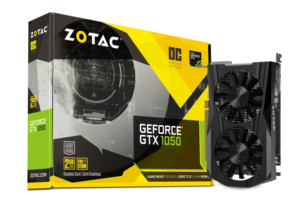 ZOTAC GeForce® GTX 1050 OC