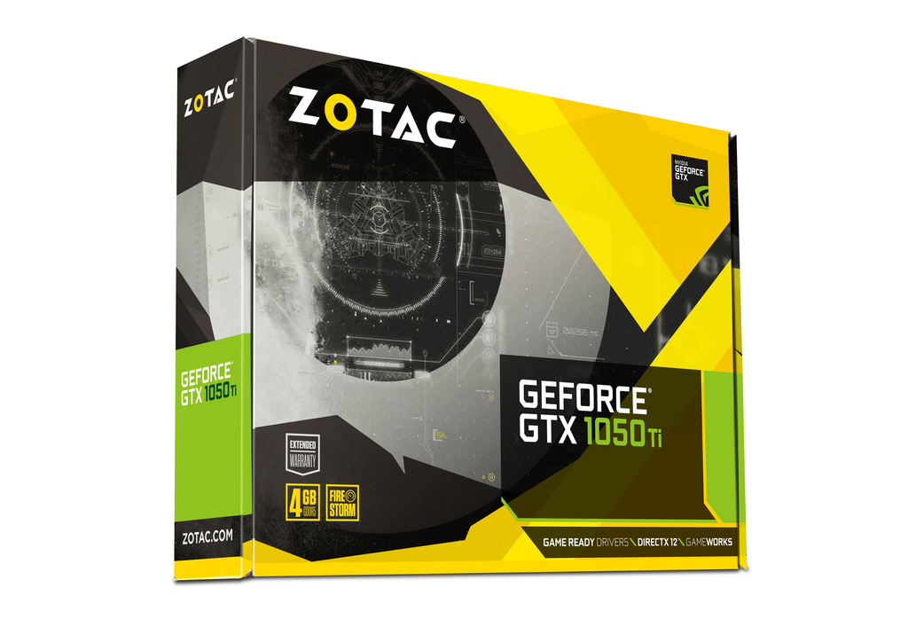 ZOTAC GeForce® GTX 1050Ti 4GB Mini