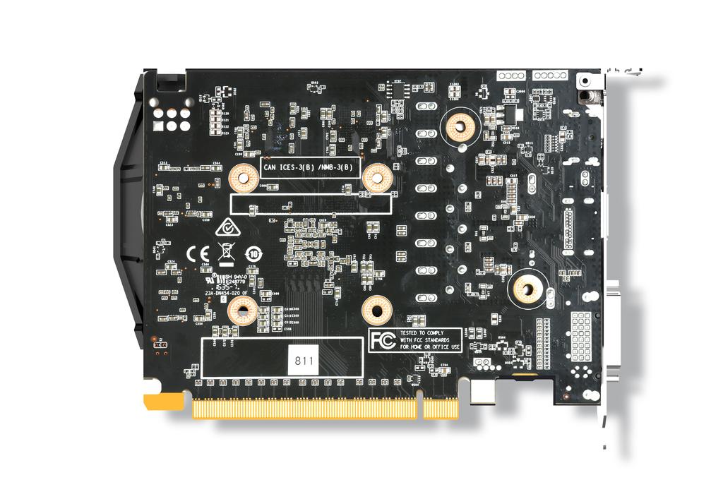 ZOTAC GeForce® GTX 1050 Ti OC Edition