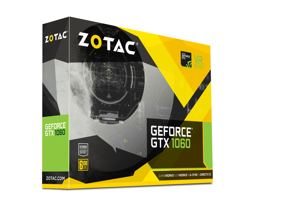 ZOTAC GeForce® GTX 1060 Mini