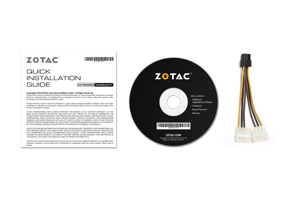 ZOTAC GeForce® GTX 1060 AMP Edition ブレイドアンドソウル推奨モデル