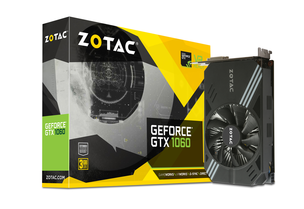 ZOTAC GeForce® GTX 1060 3GB | ZOTAC