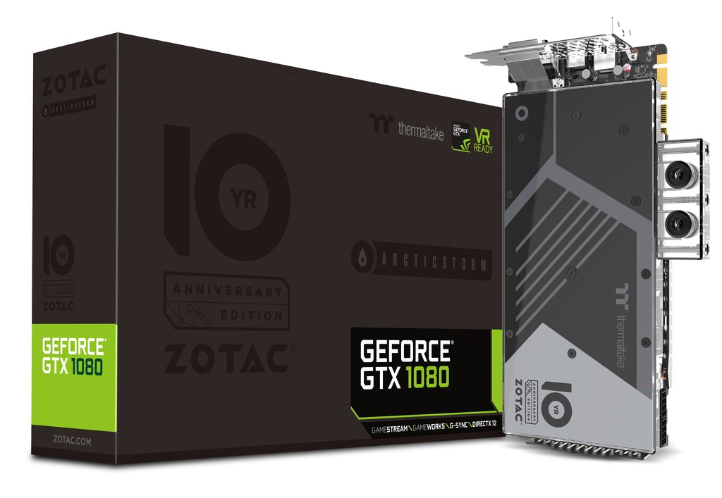 ZOTAC GeForce GTX 1080 ArcticStorm Thermaltake 10 Year Anniversary Edition