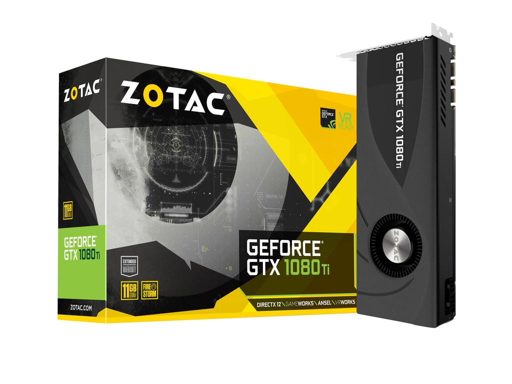 ZOTAC GeForce® GTX 1080 Ti Blower