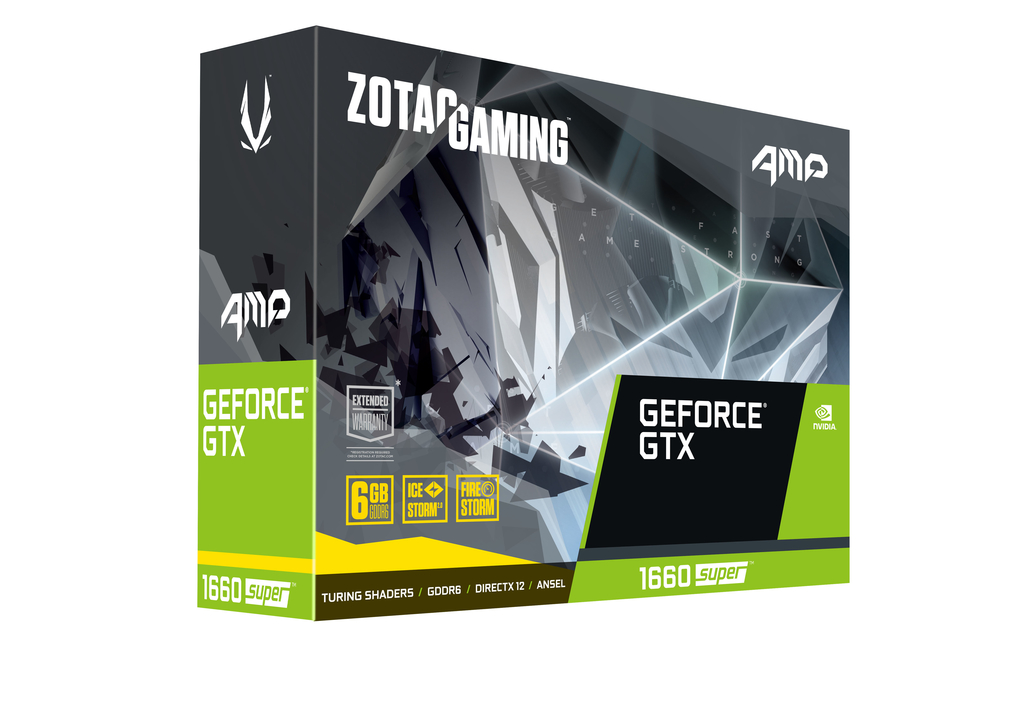 ZOTAC GAMING GeForce GTX 1660 SUPER AMP