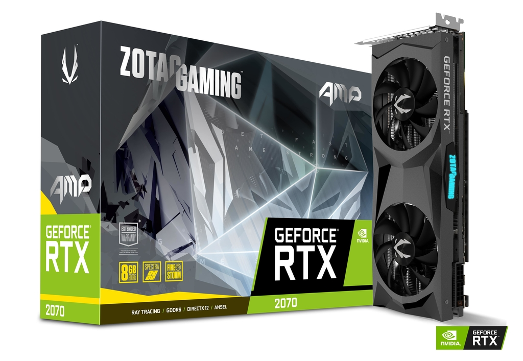 ZOTAC GAMING GeForce RTX 2070 AMP | ZOTAC