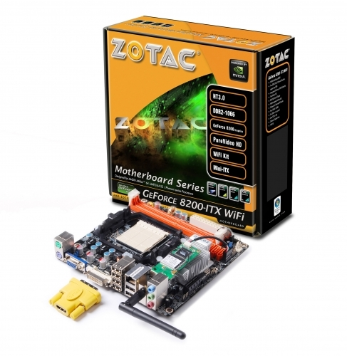 ZOTAC GeForce 8200-ITX WiFi