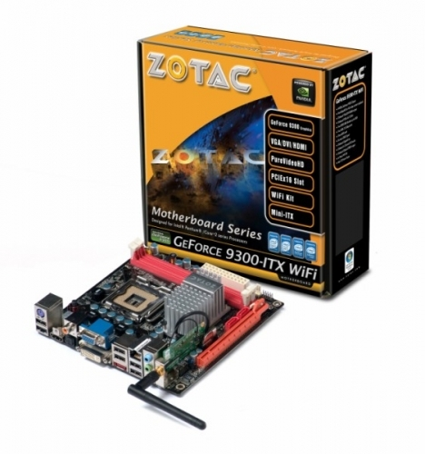 BIOS Chip:ZOTAC GF9300-D-E ITX WIFI GeForce 9300