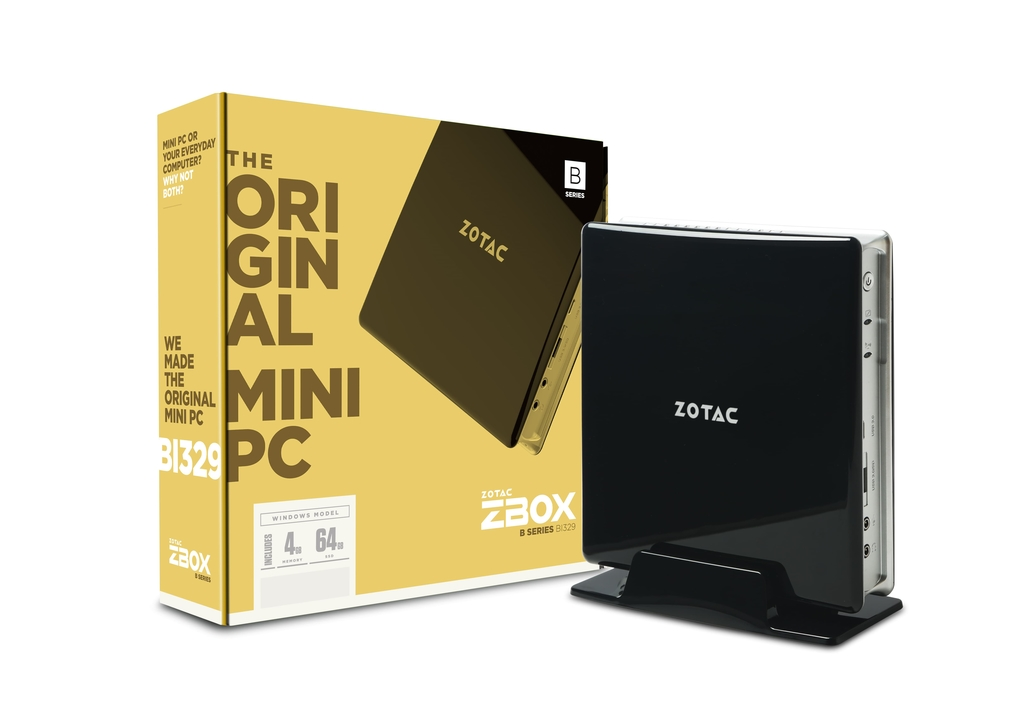 ZBOX BI329 with Windows 10 Home in S Mode | ZOTAC