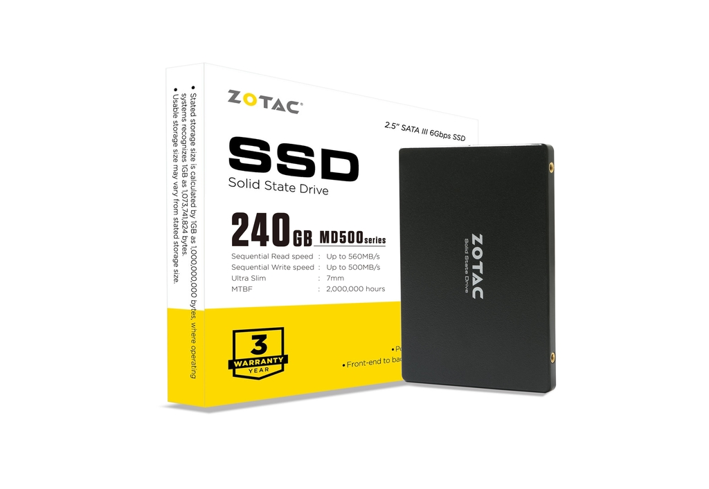 ZOTAC 240GB MD500 SSD