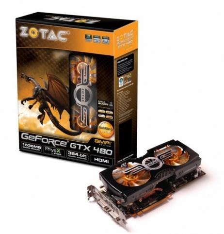 GTX 480 AMP! Edition
