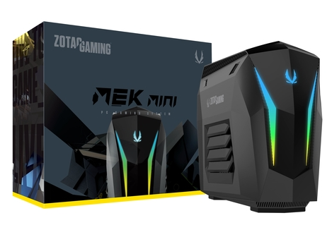 MEK MINI with Intel Core i7 and GeForce RTX 2070
